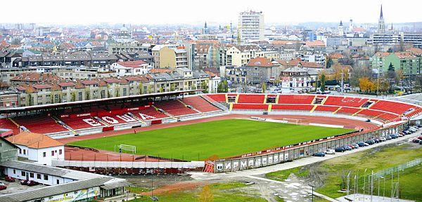 Stadion Vojvodine dobija novi izgled