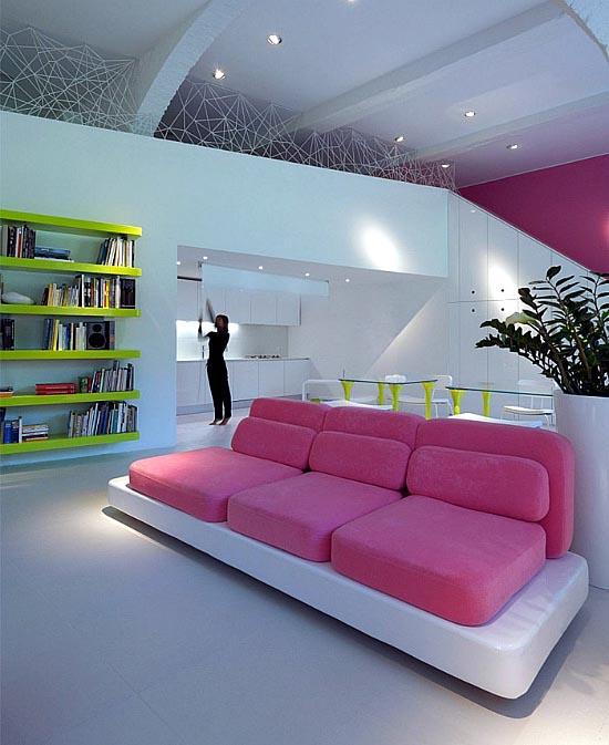 Minimalistički luksuzan apartman