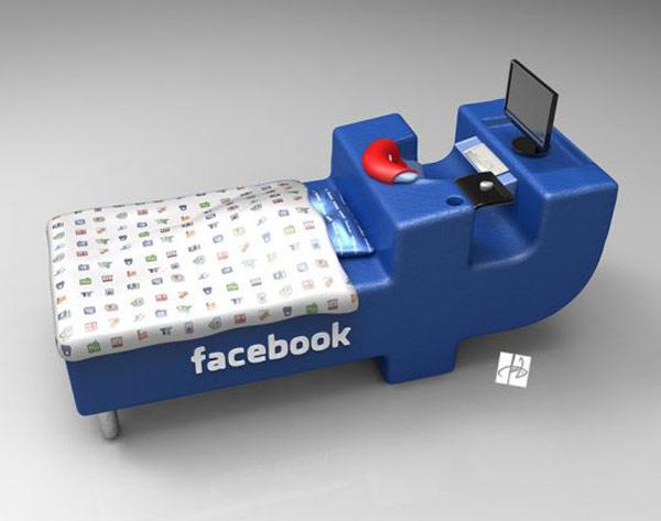 Kako treba da izgleda Facebook krevet