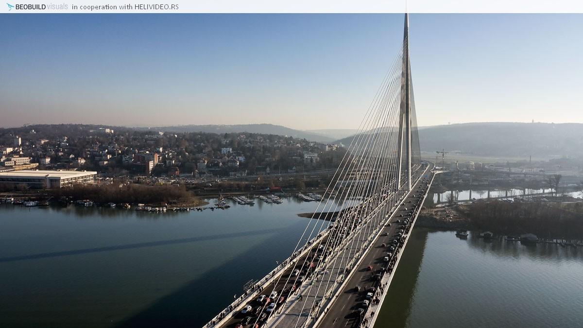 Most Na Adi Slike Iz Vazduha