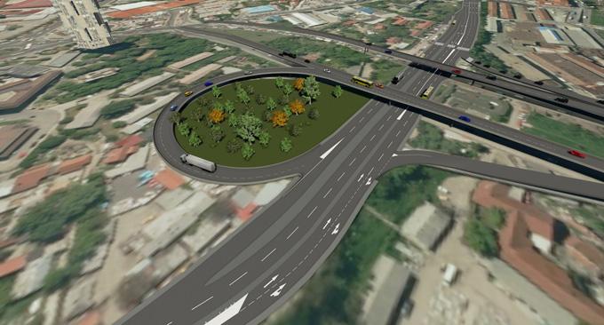 Kako će izgledati novi prilaz Pančevačkom mostu