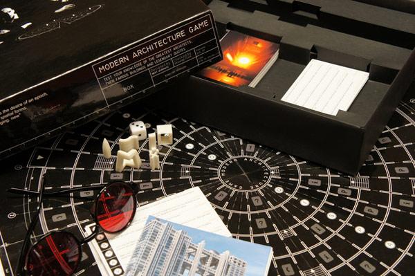 Društvena igra za arhitekte: The Modern Architecture Game
