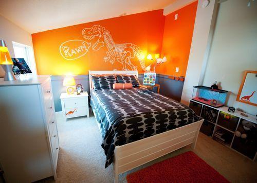 Najlepše narandžaste dečije sobe