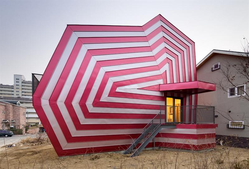 Kuća u obliku lizalice