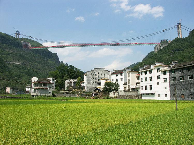 Kineski most raspona od 1.176 metara