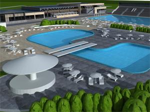 Gradnja bazena između Stare i Nove Pazove