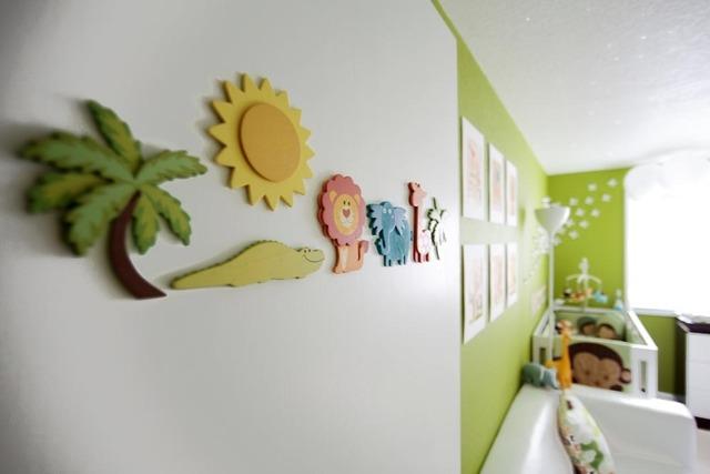 Zvezdana dečija soba za dve bebe