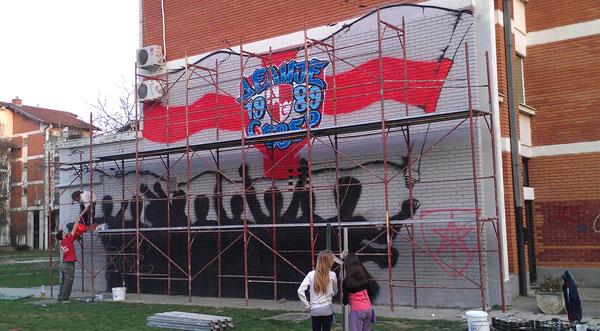 Problem grafita: Ko to tamo škraba