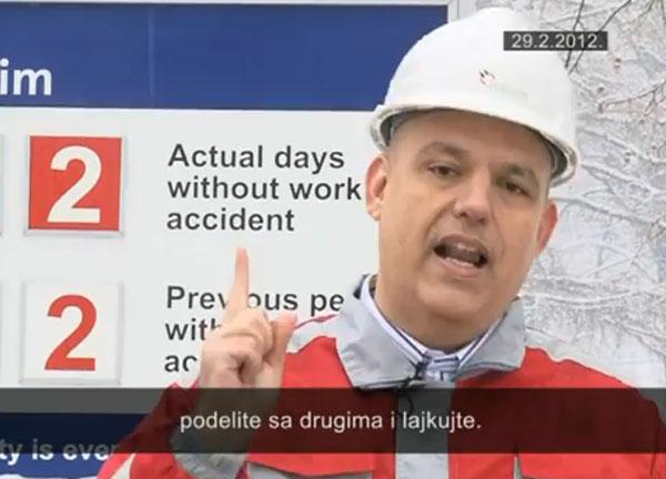 Obraćanje direktora Holcima Srbija korisnicima Facebooka: Šerujte i lajkujte