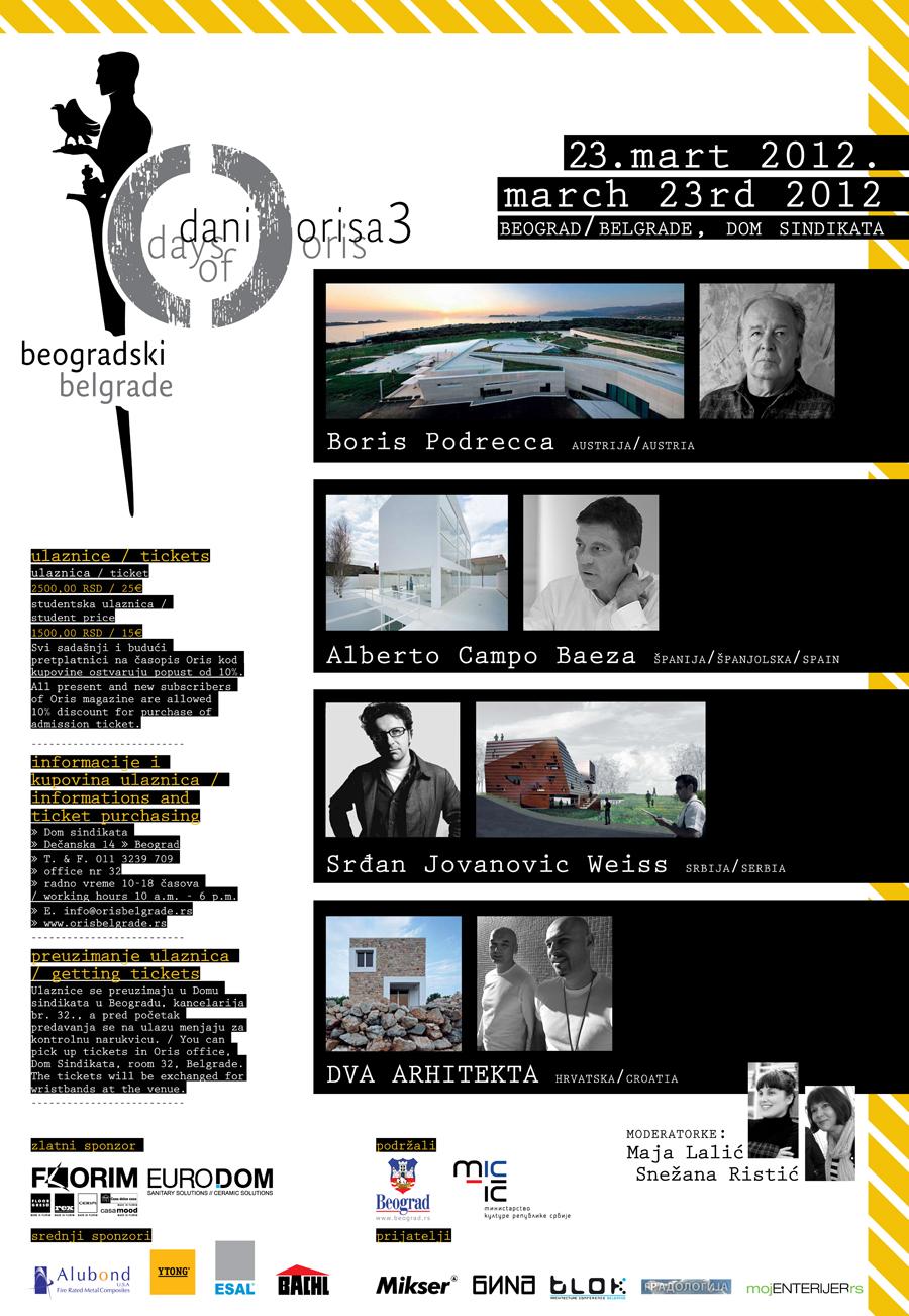 Beogradski Dani Orisa 2012