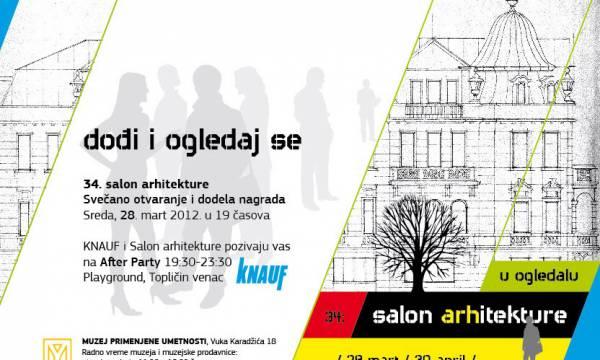 Počinje 34. Salon arhitekture