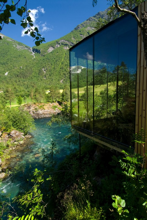 Minimalistički hotel Juvet Landscape