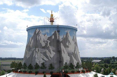 Napuštena nuklearna centrala pretvorena u zabavni park