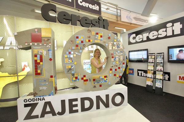 Sajam 2012: Ceresit proslavio 10 godina rada u Srbiji