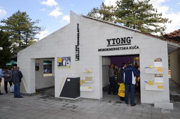 Sajam 2012: Ytong niskoenergetska porodična kuća