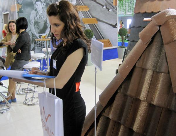 Sajam 2012: Posetioci odlučuju o novom izgledu Bramac crepa