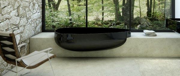 Minimalistička kada za originalna kupatila