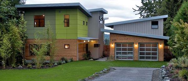 Energetski samoodrživa prefabrikovna kuća