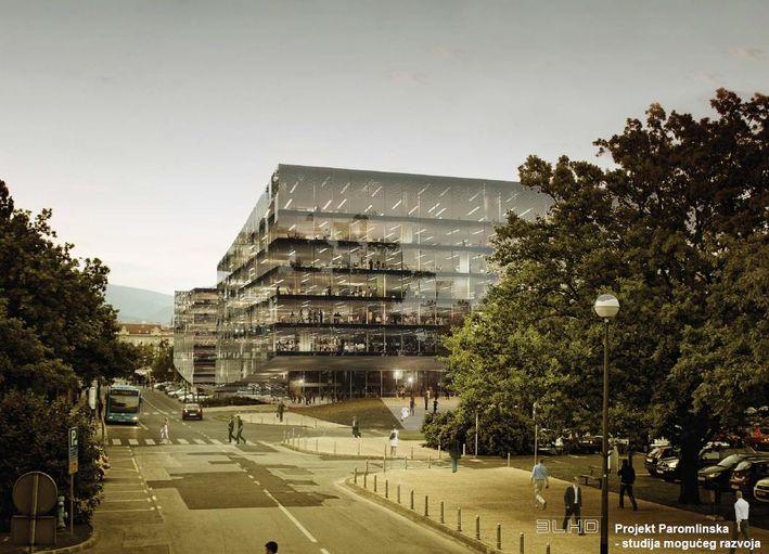 Projekt Paromlinska u Zagrebu