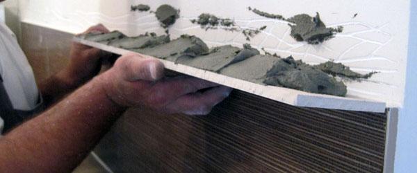 Sečenje i postavljanje zidnih pločica