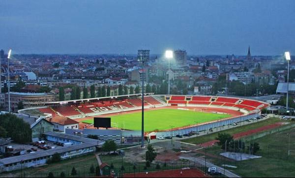 Rekonstrukcija stadiona Karađorđe od aprila 2012.