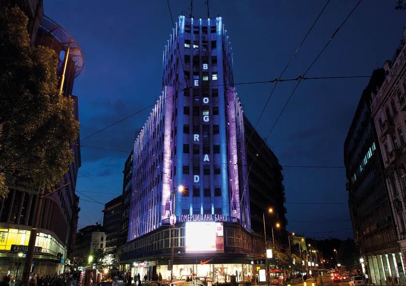 Plan osvetljavanja Beograda