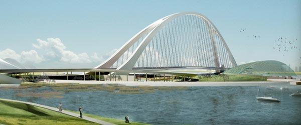 Najduži lučni most gradi se u Dubaiju
