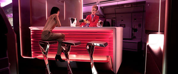 Kako će izgledati bar u Virgin Atlantic avionima