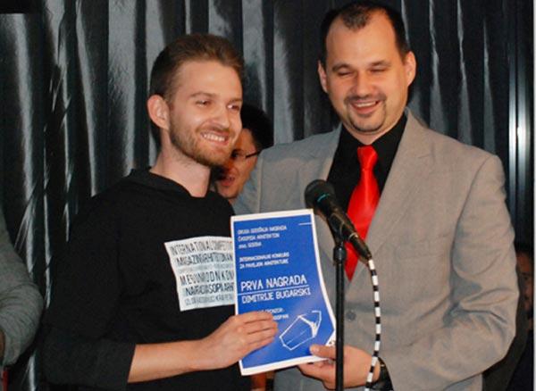 Dimitrije Bugarski laureat Druge nagrade časopisa Arhitekton