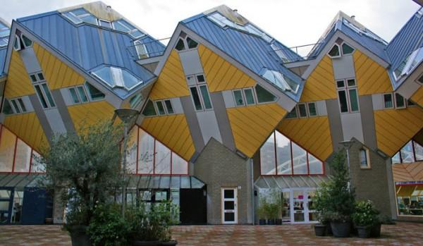Kubične kuće koje prkose gravitaciji