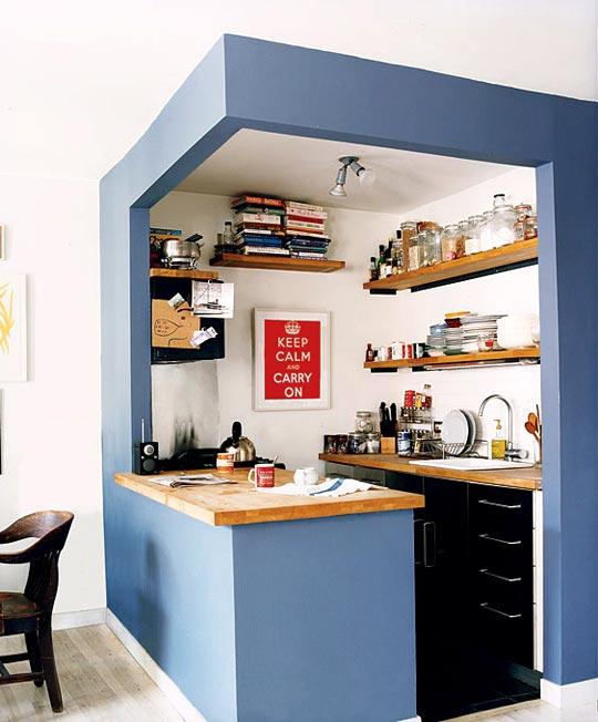 Rešenje za malu kuhinju – uokvirite je