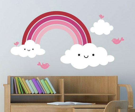 Nalepnice za zidove dečije sobe