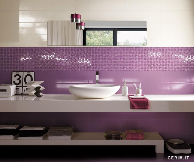 Kupatila u roze i ljubičastoj boji
