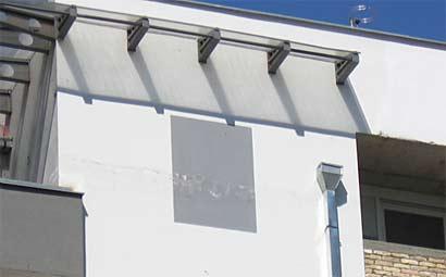 Nacrtan prozor na nadograđenom spratu