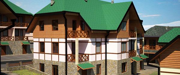 Zlatiborski konaci grade se u centru Zlatibora