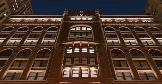 Zgrada sa najboljom noćnom rasvetom
