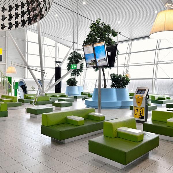 Redizajnirani lounge na aerodromu u Amsterdamu