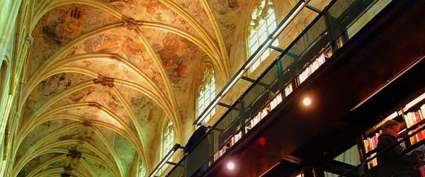 Crkva iz XIII veka adaptirana u knjižaru
