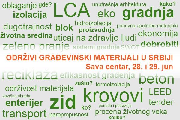 Održivi građevinski materijali na srpskom tržištu
