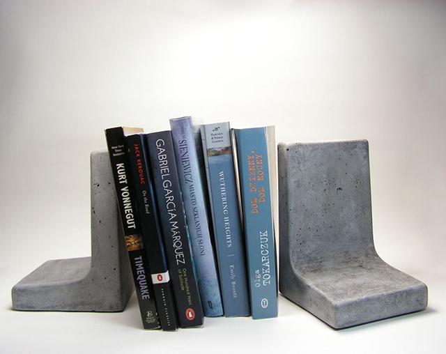 Betonski držači za knjige
