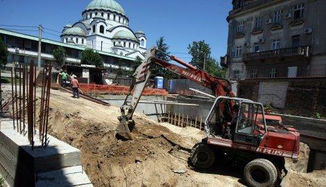 Šutanovac i Vidić grade stambenjak kod Hrama