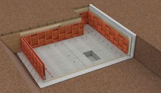 Hidroizolacija temelja, suterena i drugih podzemnih konstrukcija