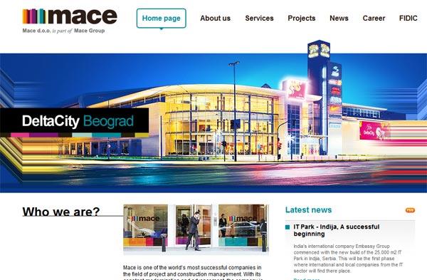 MACE najbolja firma u oblasti građevinskog menedžmenta