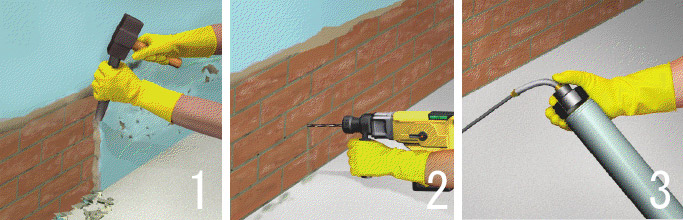 Kako hidroizolovati zid u 5 koraka