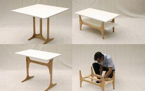 Tri u jedan: multifunkcionalni sto