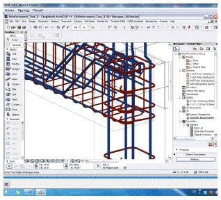 ArchiCAD za projektovanje armature
