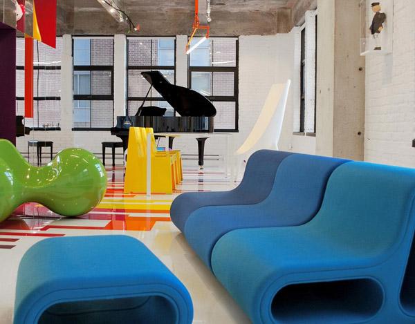 Arhitektura, umetnost i dizajn u jednom prostoru
