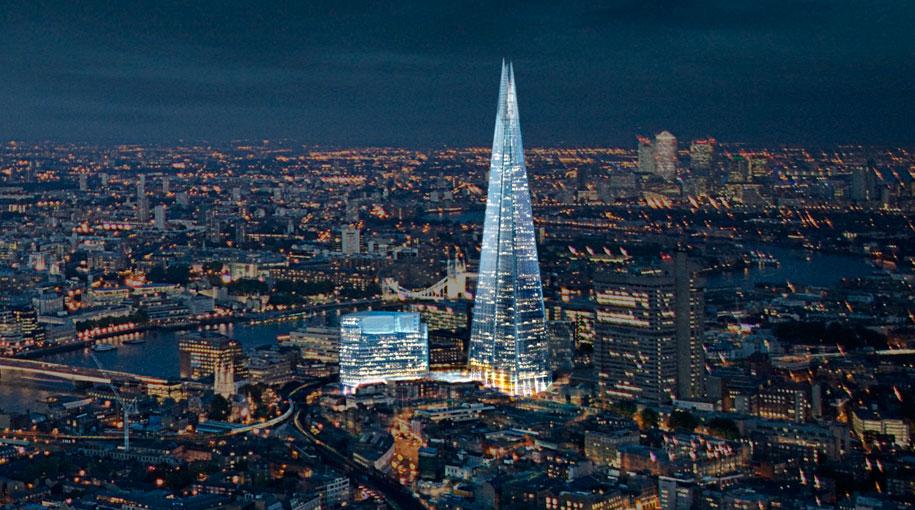 The Shard: Pogledajte kako je nastao najviši toranj u EU