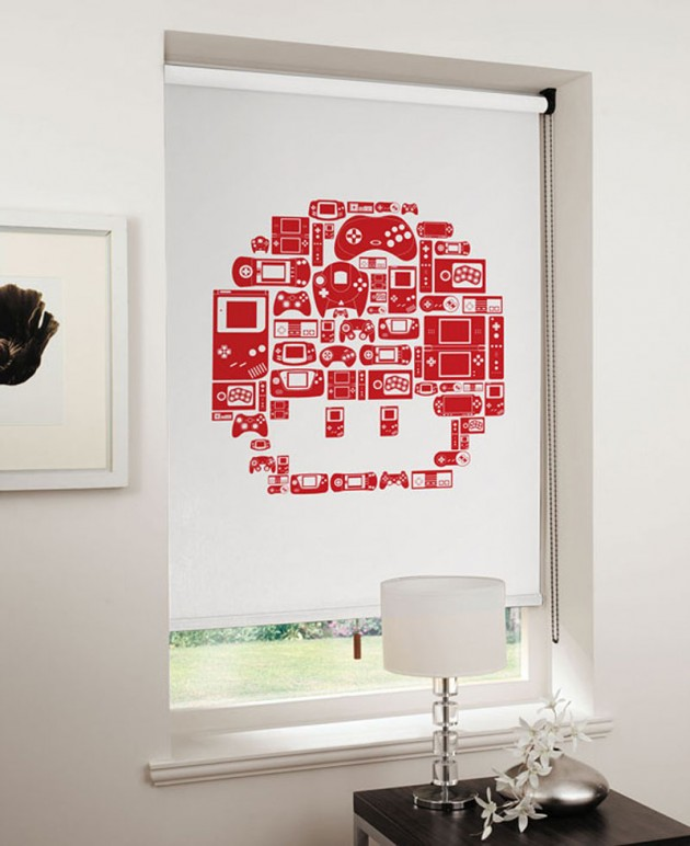 8-Bit-Video-Game-Roller-Blinds-1