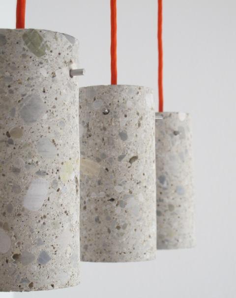 Betolux: Lusteri od betona